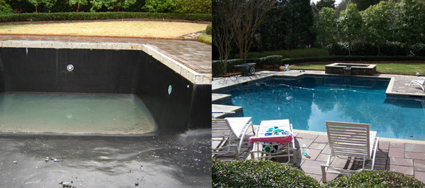 Custom Pools & Spas Photos