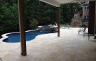 Custom Pool & Spa with Covered Patio